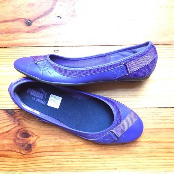 Puma Shoes - Puma Purple Flats, EUC, 7.5